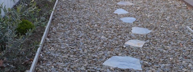 schist stepping stones