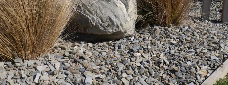 schist gravel