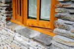 schist window sill